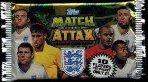 Pack, Topps Match Attax England 2014