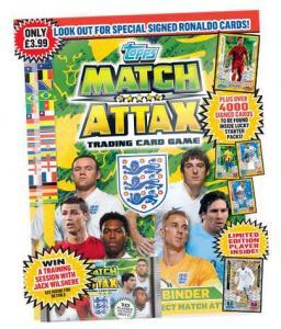 Startpaket, Topps Match Attax England 2014