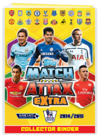 Startpaket, Topps Match Attax Extra Premier League 2014-15