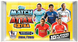 Pack, Topps Match Attax Extra Premier League 2014-15