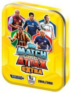 Mini Tin, Topps Match Attax Extra Premier League 2014-15