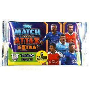 Pack Match Attax Premier League EXTRA 2015-16
