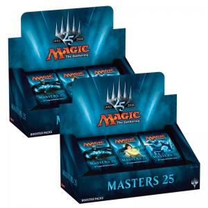 Magic, Masters 25, 2 Displayer (I case)