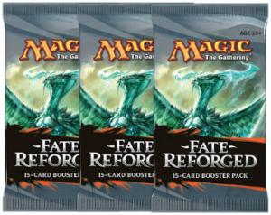 Magic, Fate Reforged, 3 Boosters