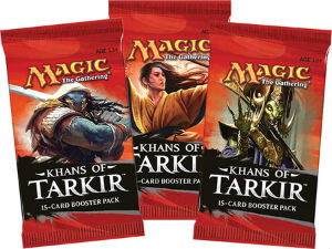Magic, Khans of Tarkir, 3 Boosters