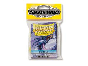 Mini-size sleeves (YGO) - Dragon Shield - Purple (50)
