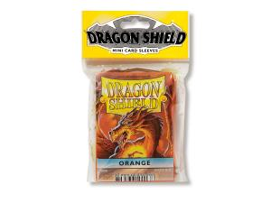Mini-size sleeves (YGO) - Dragon Shield - Orange (50)