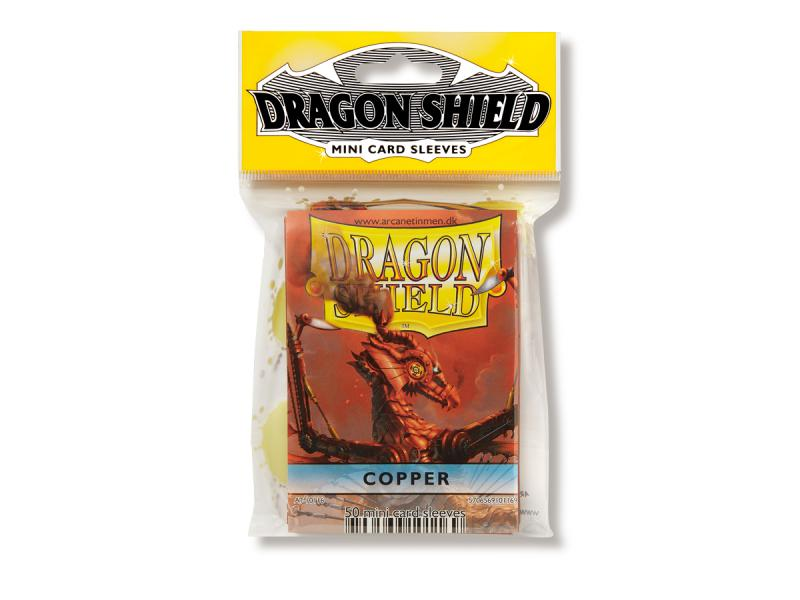 Mini-size sleeves (YGO) - Dragon Shield - Copper (50)