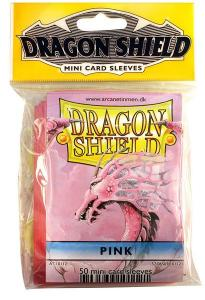 Mini-size sleeves (YGO) - Dragon Shield - Pink (50)