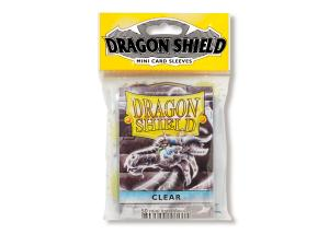 Mini-size sleeves (YGO) - Dragon Shield - Clear (50)