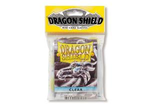 Mini-size sleeves (YGO) - Dragon Shield - Clear (50)