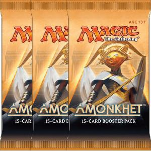 Magic, Amonkhet, 3 Boosters