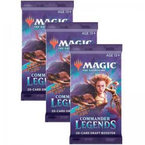 Magic, Commander Legends, 3 Boosters
