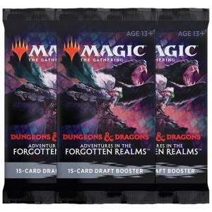 Magic, Forgotten Realms, 3 Draft Booster