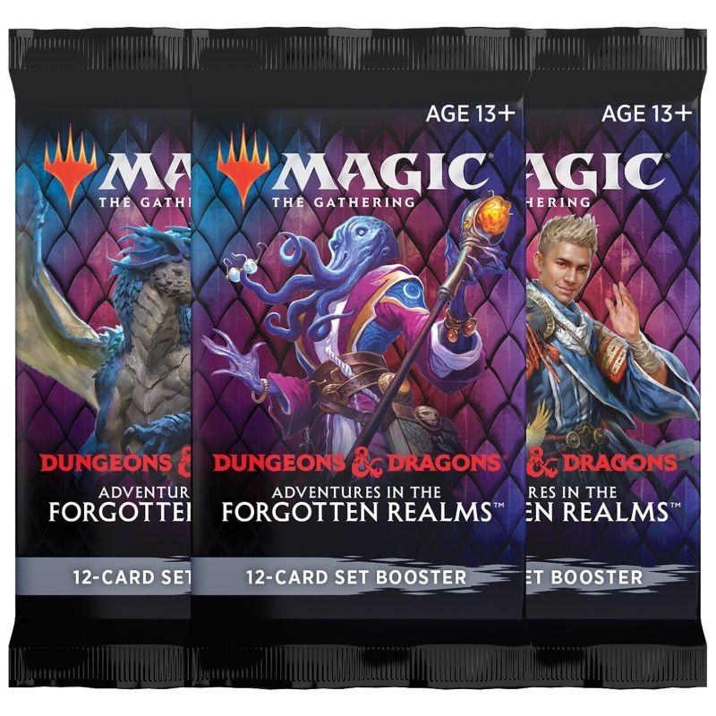 Magic, Forgotten Realms, 3 Set Booster