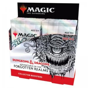 Magic, Forgotten Realms, Collector Booster Display