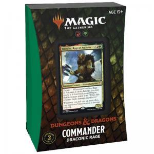 Magic, Forgotten Realms, Commander Deck: Draconic Rage