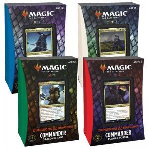 Magic, Forgotten Realms, Commander Deck x 4 (De fyra olika)