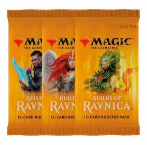 Magic, Guilds of Ravnica, 3 Boosters