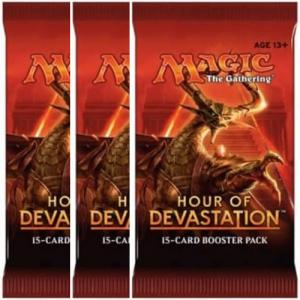 Magic, Hour of Devastation, 3 Boosters