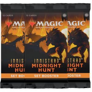 FÖRKÖP: Magic, Innistrad Midnight Hunt, 3 Set Booster (Preliminär release 24:e september 2021)