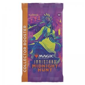 FÖRHANDSVISNING: Magic, Innistrad Midnight Hunt, Collector Booster, 1 Booster (Börjar säljas när mer info finns)