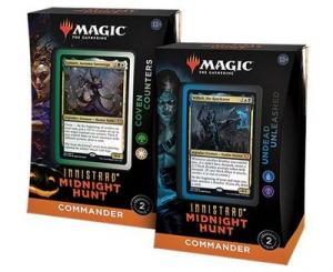 Magic, Innistrad Midnight Hunt, Commander Deck x 2 (Undead Unleashed + Coven Counters)