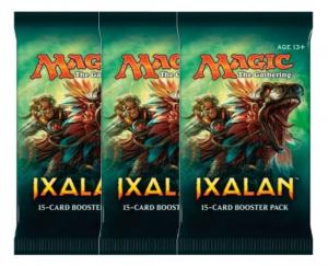 Magic, Ixalan, 3 Boosters