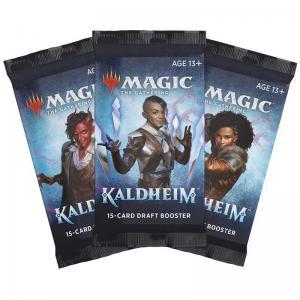 Magic, Kaldheim, 3 Draft Boosters