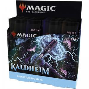 Magic, Kaldheim, Collector Booster Display