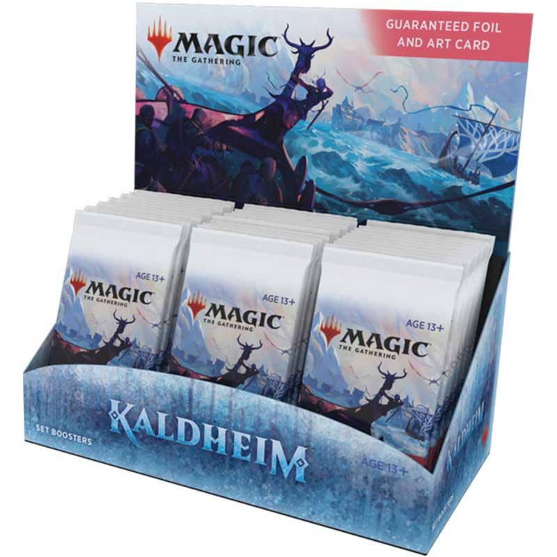 Magic, Kaldheim, Set Booster Display