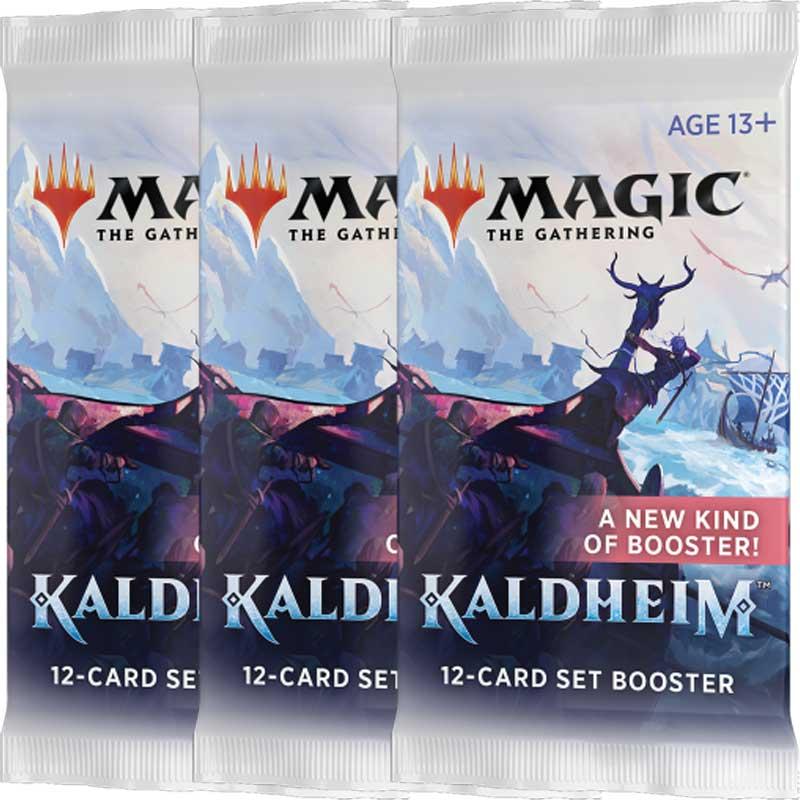 Magic, Kaldheim, 3 Set Boosters
