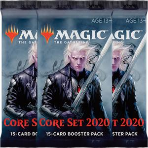 Magic, Core Set 2020, 3 Boosters