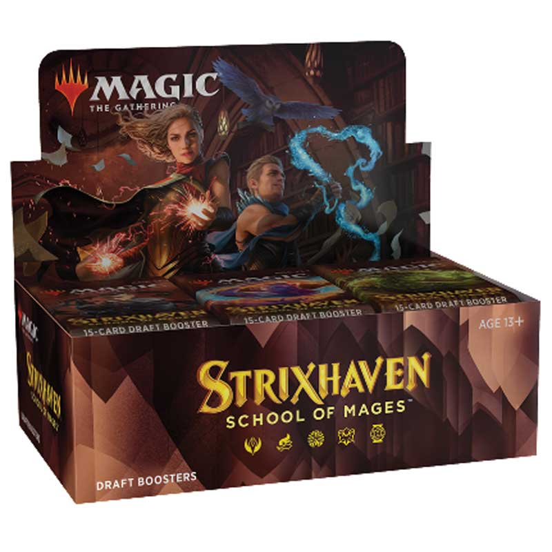 Magic, Strixhaven: School of Mages, Draft Booster Display