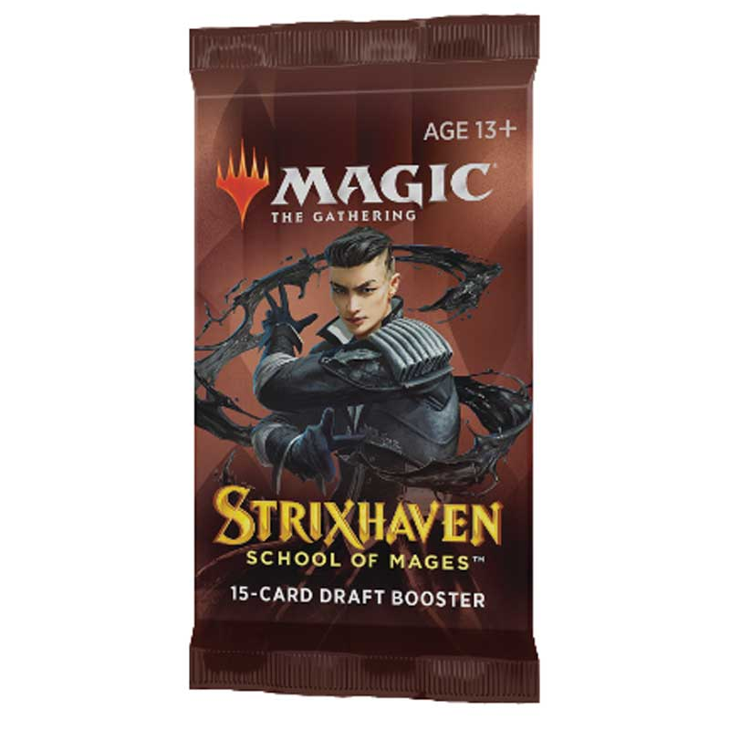 Magic, Strixhaven: School of Mages, 1 Draft Booster