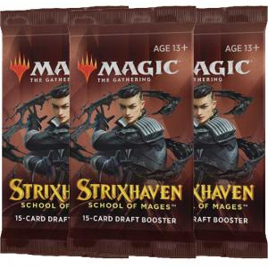 Magic, Strixhaven: School of Mages, 3 Draft Boosters