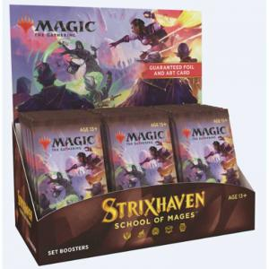 FÖRKÖP (Early Sales Promotion): Magic, Strixhaven: School of Mages, Set Booster Display (Preliminär release 16:e april 2021)