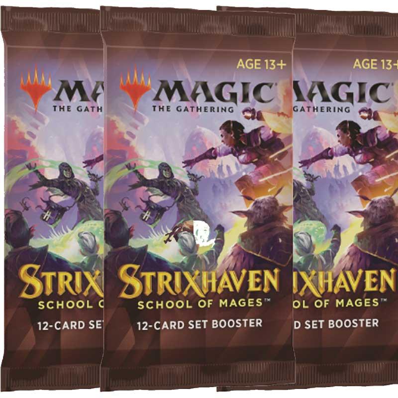 Magic, Strixhaven: School of Mages, 3 Set Boosters