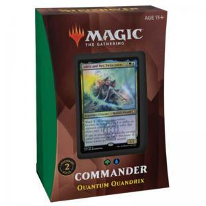Magic, Strixhaven: School of Mages, Commander Deck: Quantum Quandrix [Green / Blue]