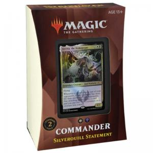 Magic, Strixhaven: School of Mages, Commander Deck: Silverquill Statement [White / Black]