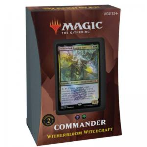 Magic, Strixhaven: School of Mages, Commander Deck: Witherbloom Witchcraft [Black / Green]