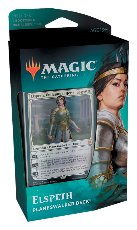 Magic, Theros Beyond Death, Planeswalker Deck – Elspeth