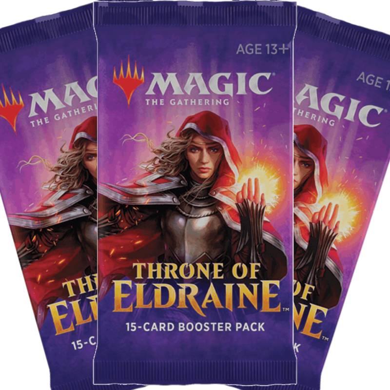 Magic, Throne of Eldraine, 3 Boosters