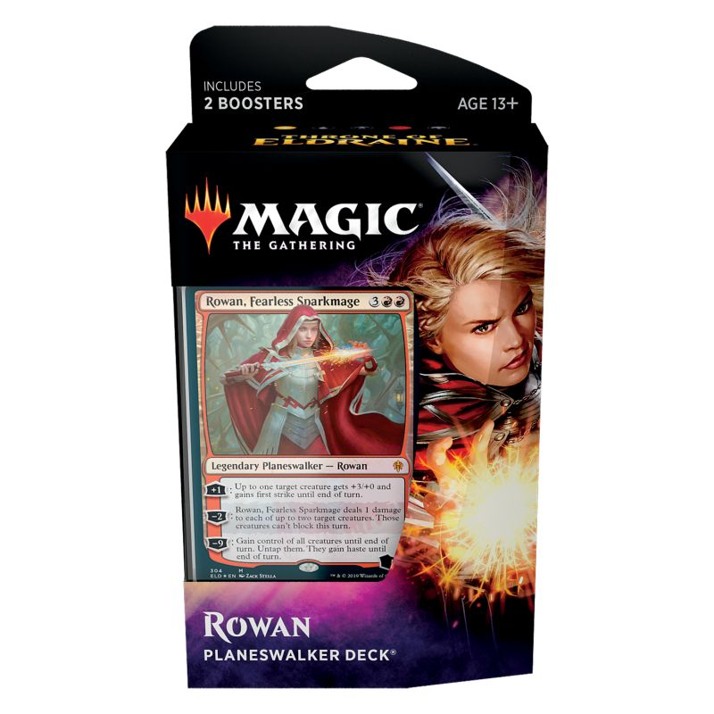 Magic, Throne of Eldraine, Planeswalker Deck – Rowan