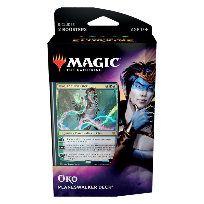 Magic, Throne of Eldraine, Planeswalker Deck – Oko