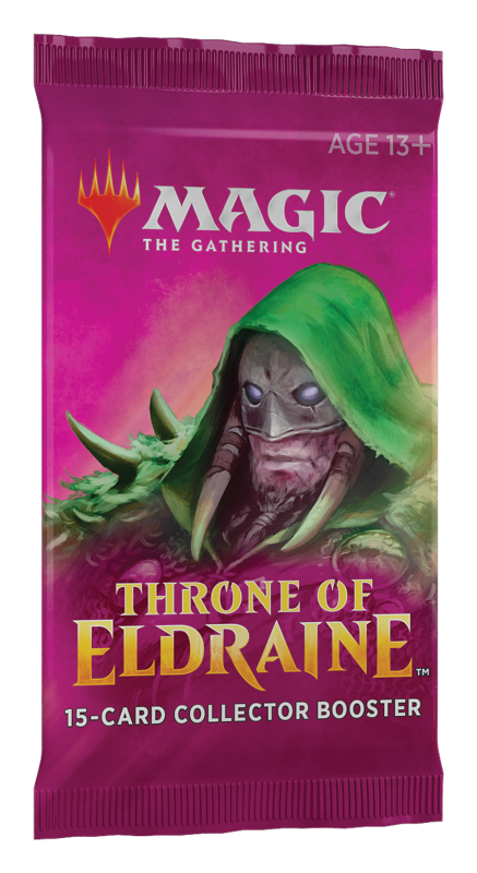 Magic, Throne of Eldraine, 1 Collectors Booster