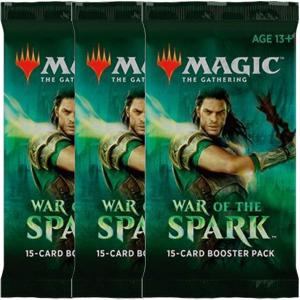 Magic, War of the Spark, 3 Boosters