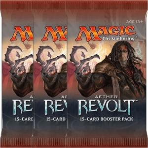 Magic, Aether Revolt, 3 Boosters