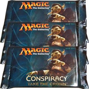 Magic, Conspiracy: Take the Crown, 3 Boosters