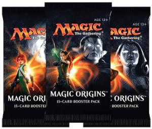 Magic, Magic Origins, 3 Booster